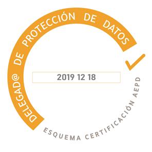 Logo del Delegado de protección de Datos